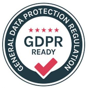 GDPR ready logo, trapped escape room okehampton